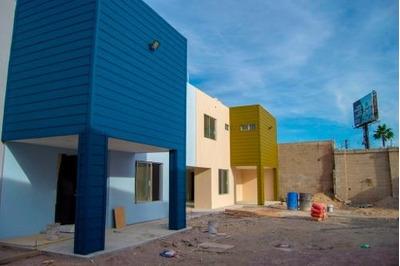 Casa Nueva En Venta En Privada Bacatete Col. Sonoita En Tijuana B.c