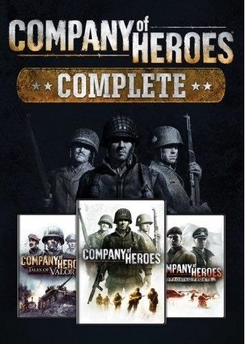 Company Of Heroes Complete Edition - Pc Game Frete Barato