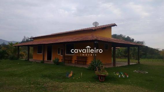 Rancho Residencial À Venda, Ubatiba, Maricá. - Ra0001
