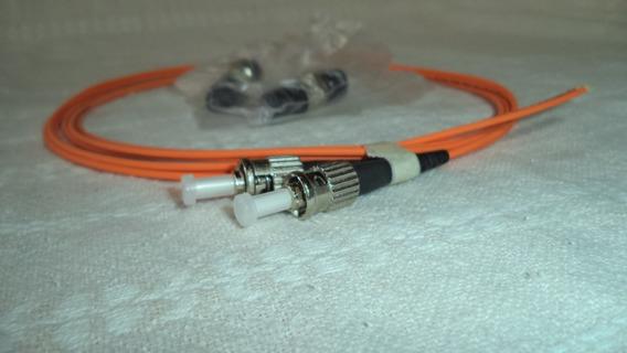 Extensão Óptica Conectorizada Multimodo 2 Fibras St 1m