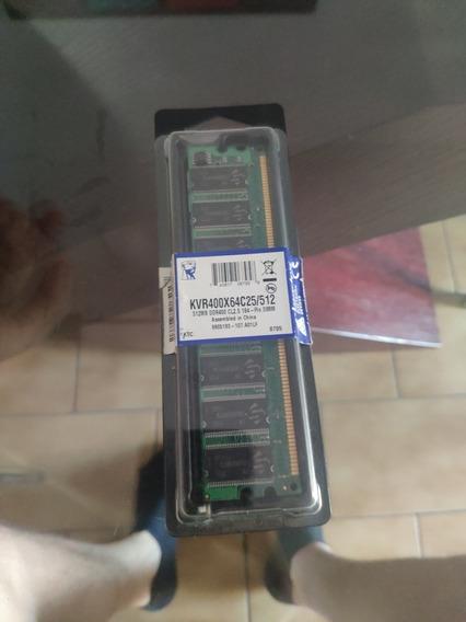 Memoria 512mb Ddr400 Cl2.5 184 Kingstone
