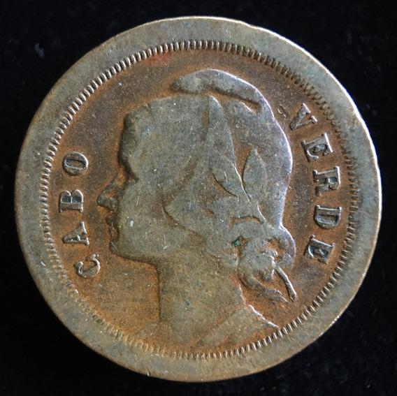 Cabo Verde, 20 Centavos, 1930. Vf