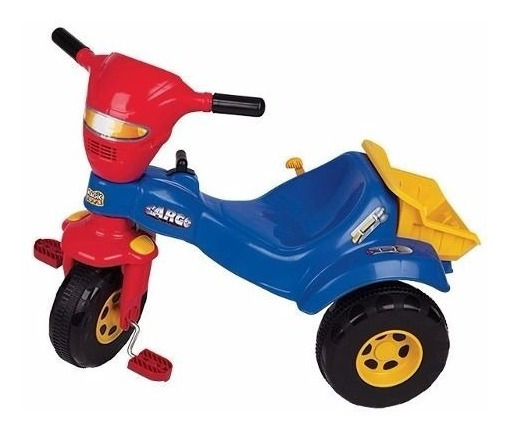 Velotrol Triciclo Tico Cargo Com Caçamba Magic Toys