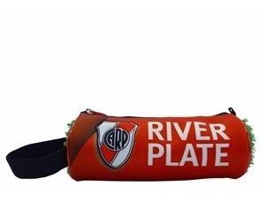 Cartuchera Escolar Tubo River Plate Original