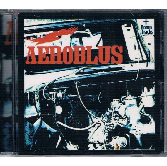 Aeroblus Aeroblus Cd Bonus Nuevo Sellado Pappo Riff