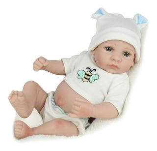 Muñeca De Bebé Kaydora 10 Pulg De Silicona Recién Nacida
