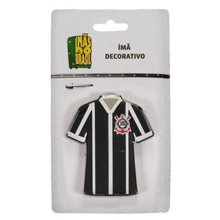Imã Corinthians Camisa Listrada