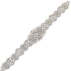 ... Para Bodas Cinturón Pa · Nupcial Fajas Apliques Con Cinturones De  Cristal Rhinestone 280a4a08b4a0
