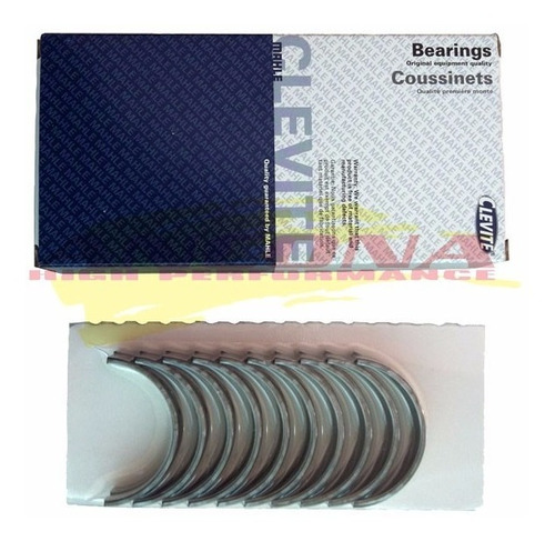 Bronzina Biela Clevite Cb1426p.25 Vw Ap 1.6 1.8 2.0 Turbo