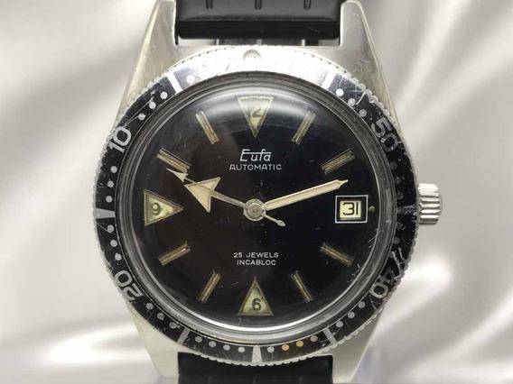 Relógio Eufa West Produzido Na Alemanha Entre 1965 E 1969 Calibre 1361 Garantia Relogiodovovô.