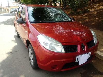 Renault Sandero Expression 1.0 16v 2010 Completo