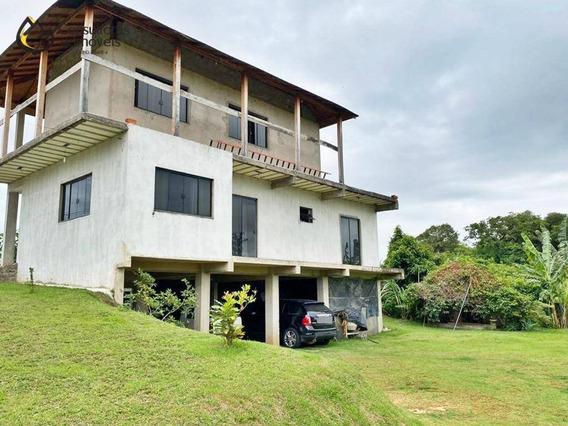 Chácara Com 4 Dormitórios À Venda, 1000 M² Por R$ 750.000,00 - Condomínio Vale Das Águas - Sorocaba/sp - Ch0018
