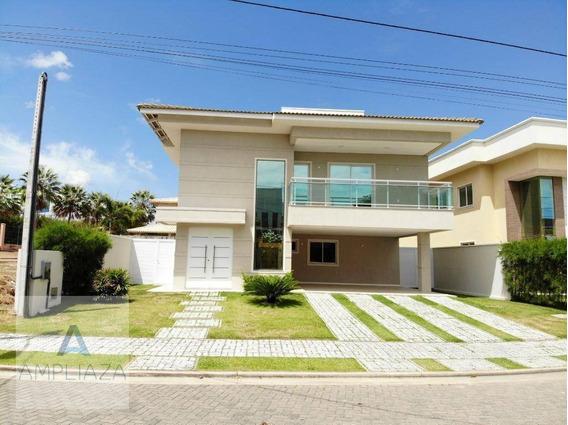 Casa Com 5 Dormitórios À Venda, 420 M² Por R$ 1.650.000,00 - Centro - Eusébio/ce - Ca0153