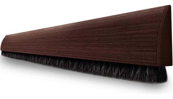 Veda Porta Adesivo Protetor 100cm Comfortdoor Marrom Escuro