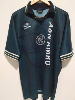 Camisa Ajax 1995/1996 Oficial Antiga Umbro G Reserva