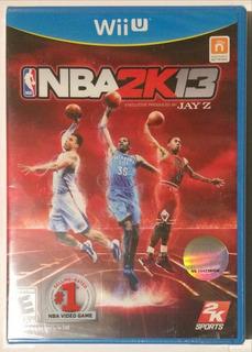 Nba 2k13 - Wii U - Nuevo - Sellado