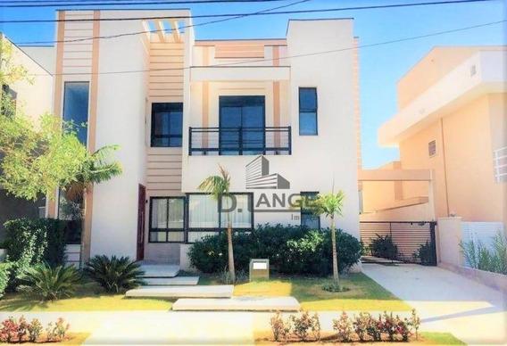 Casa Com 3 Dormitórios À Venda, 301 M² Por R$ 1.550.000,00 - Swiss Park - Campinas/sp - Ca13407
