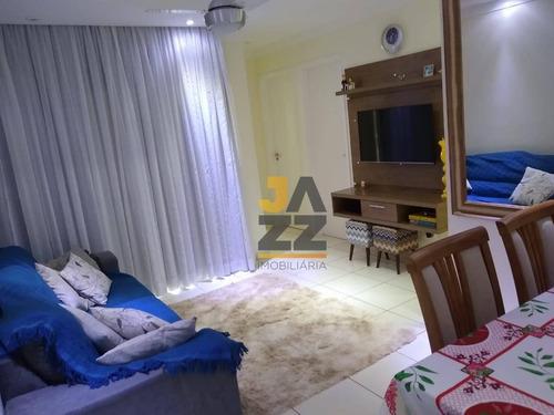 Imagem 1 de 25 de Lindo Apartamento Com 2 Dormitórios À Venda No Residencial Treviso, 52 M² Por R$ 195.000 - Parque Planalto - Santa Bárbara D'oeste/sp - Ap6527
