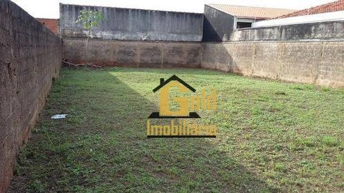 Terreno Com 336 M² Para Venda Por R$ 129.000,00/- Cândido Portinari - Ribeirão Preto Sp - Te0125
