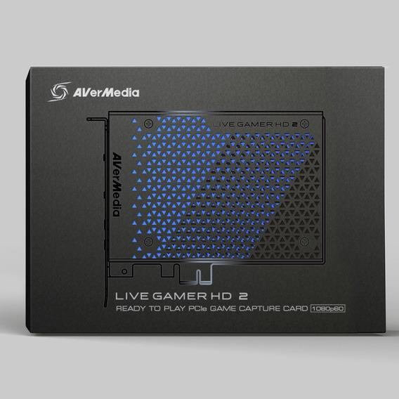 Placa Captura Vídeo Pcie Avermedia Live Gamer Hd 2 Gc570