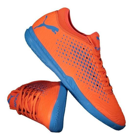 Chuteira Puma Future 19.4 It Futsal Laranja