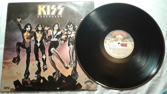 Lp Kiss Destroyer (nacional)