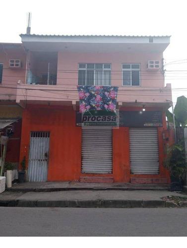Casa Com 3 Dormitórios À Venda, 220 M² Por R$ 290.000 - Monte Das Oliveiras - Manaus/am - Ca4050