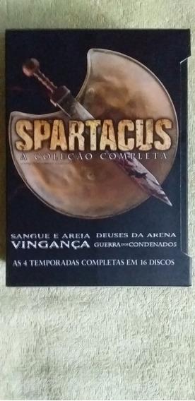 Box Dvd Spartacus A Coleção Completa Original