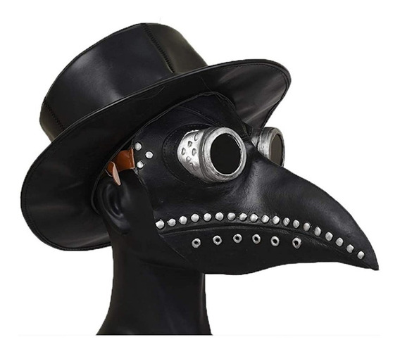 Peste Doctor Pico Máscara Accesorios De Cosplay De Halloween