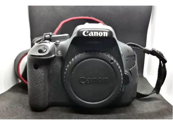 Câmera Canon Semiprofisional Com + 14 Itens Lentes Flash E