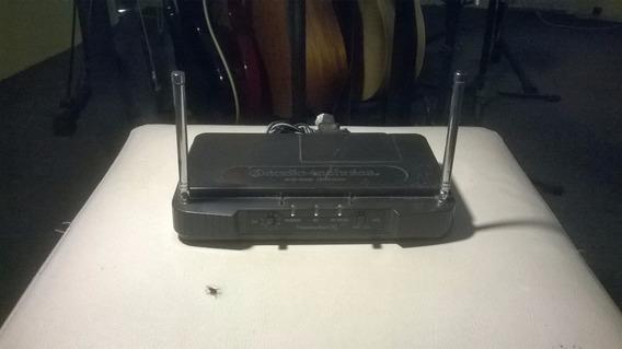 Transmissor Sem Fio Guitarra Audio Technica 10 Canais Uhf