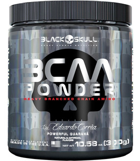 Bcaa Powder (300g) - Black Skull Suplementos