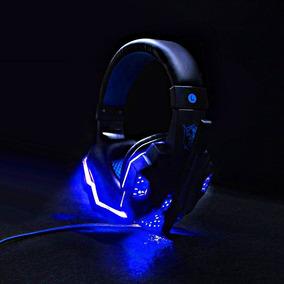 Fone De Ouvido Headset Gamer Pc Led Com Microfone Ostart