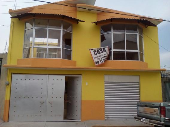 Casa Nueva Tecamac Con Accesoria