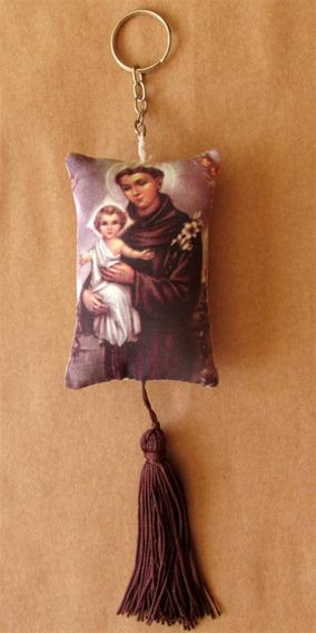 Chaveiro Com Imagem De Santo Antonio