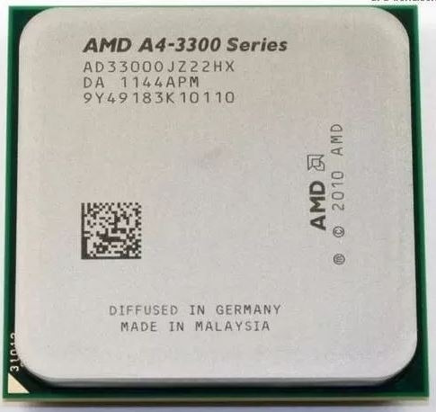 Processador Amd A4 3300 Socket Fm1 2.5ghz Ad33000jz22hx