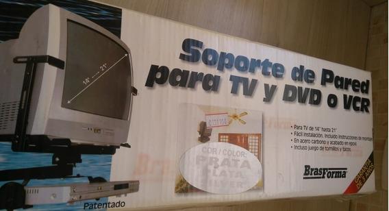 Suporte De Parede Para Tv E Dvd
