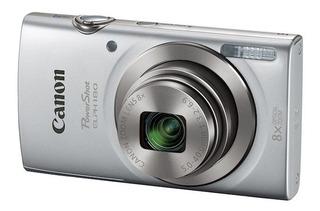 Camara Canon Powershot Elph 180 20mp 8x Lcd 2.7 Bat.litio V.