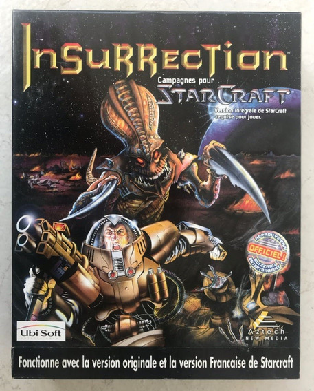 Starcraft - Insurrection Blizzard Big Box ( Francês )