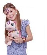 Pelúcia My Little Pony Com Miçangas Pinkie Pie Fun
