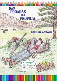 Livro De Colorir Nas Pegadas Do Profeta