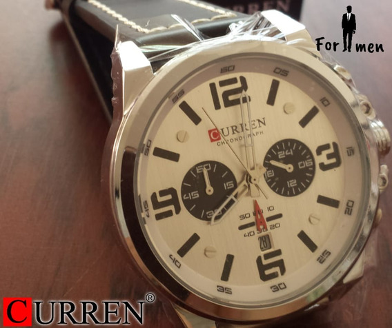 Reloj Curren Para Caballero Leon Gto.