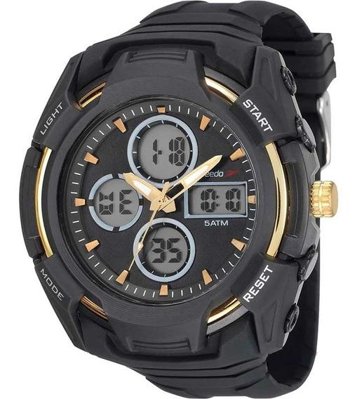 Relógio Speedo Masculino Anadigi Esportivo Original Garantia