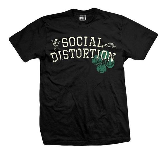 Remera Social Distortion Lucky 79