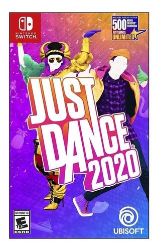 Imagen 1 de 3 de Just Dance 2020 Ubisoft Nintendo Switch  Físico