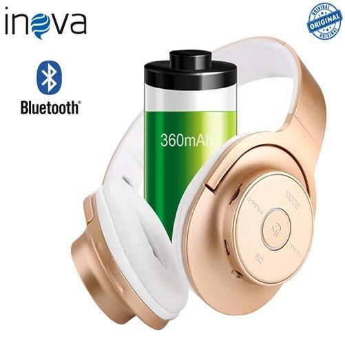 Fone De Ouvido Bluetooth Sem Fio / Super Bass Inova 2056