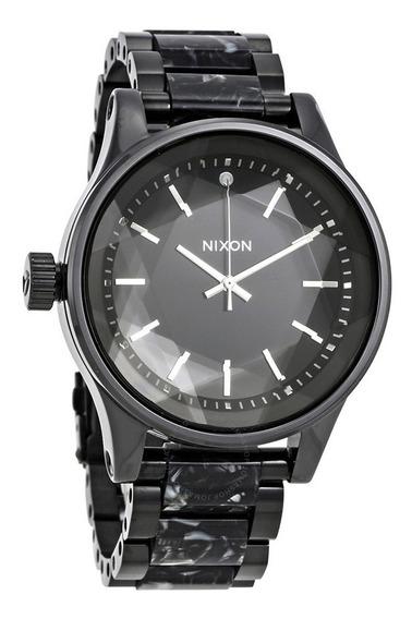 Reloj Nixon A384 2185 Original Nuevo De 43mm