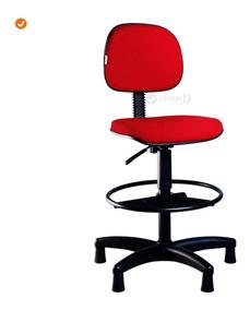 Cadeira Caixa Secretária Alta   Várias Cores   Melhor Frete