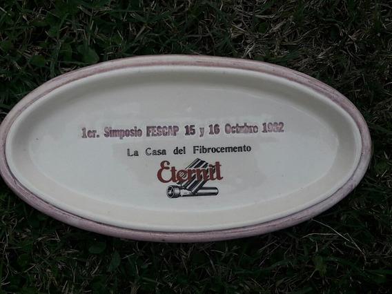 Plato Primer Simposio Fescap Octubre 1982 Eternit