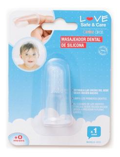 Masajeador Cepillo Dental Encias Love 8826 Higiene Bebe